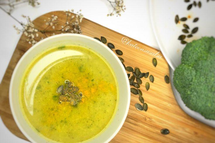 Antyoksydacyjny i rozgrzewający krem z brokuł. Idealny na jesień! Blog kosmetyczny - Kate en su salsa